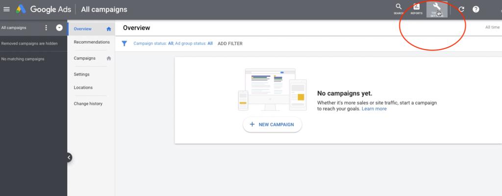 Google ads keyword research planner tool