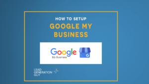 How to setup Google My Business